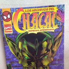 Cómics: LOS ARCHIVOS DEL CHACAL ESPECIAL SPIDERMAN. Lote 210789345