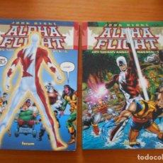 Comics: ALPHA FLIGHT - LOS SUEÑOS NUNCA MUEREN COMPLETA - Nº 1 Y 2 - JOHN BYRNE - MARVEL - FORUM (AI). Lote 210818144