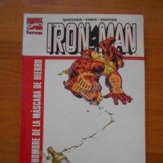 Cómics: IRON MAN - EL HOMBRE DE LA MASCARA DE HIERRO - MARVEL - FORUM (GB). Lote 210823740