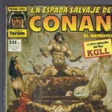 Cómics: LA ESPADA SALVAJE DE CONAN N,65 CONTIENE 3 NUMEROS,CONAN Y VALERIA JUNTOS DE NUEVO 1982 FORUM. Lote 210826576