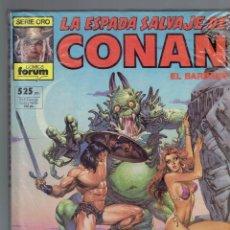 Cómics: LA ESPADA SALVAJE DE CONAN N,56 CONTIENE 3 NUMEROS, 1982 FORUM. Lote 210827089