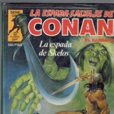 Cómics: LA ESPADA SALVAJE DE CONAN SERIE ORO TAPA DURA PLANETA COMIC SUPER CONAN N,3. Lote 210828531