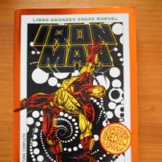 Cómics: IRON MAN - MUERTE EN EL CIBERESPACIO - 1995 - LIBRO GRANDES SAGAS MARVEL - FORUM (BW). Lote 210837500