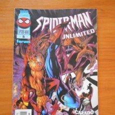 Cómics: SPIDER-MAN UNLIMITED Nº 5 - MARVEL - FORUM (Z). Lote 210838674