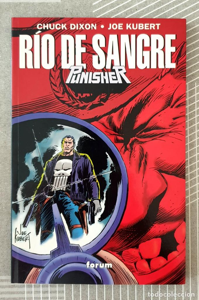 THE PUNISHER. RIO DE SANGRE DE CHUCK DIXON Y JOE KUBERT. TOMO UNICO. FORUM 1995 (Tebeos y Comics - Forum - Prestiges y Tomos)