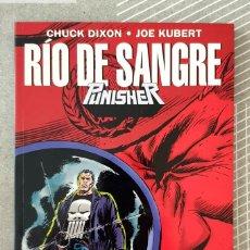 Cómics: THE PUNISHER. RIO DE SANGRE DE CHUCK DIXON Y JOE KUBERT. TOMO UNICO. FORUM 1995. Lote 210952511