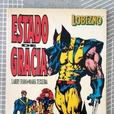 Cómics: LOBEZNO. ESTADO DE GRACIA DE LARRY HAMA Y MARK TEXEIRA. TOMO UNICO. FORUM 1994. Lote 210954241
