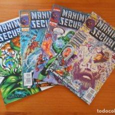 Cómics: MAXIMUM SECURITY COMPLETA - Nº 1, 2, 3 Y 4 - MARVEL - FORUM (8W). Lote 211269199