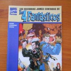 Cómics: LAS HISTORIAS JAMAS CONTADAS DE LOS 4 FANTASTICOS - LA COSA Y LOBEZNO - MARVEL - FORUM (8W). Lote 211269739