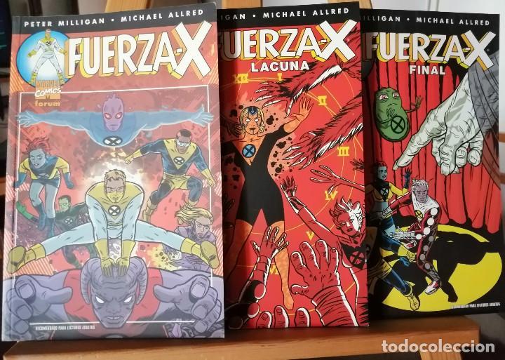 LOTE FUERZA-X. 3 TOMOS. (Tebeos y Comics - Forum - Prestiges y Tomos)