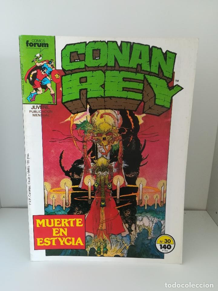 CONAN REY Nº 30 COMICS FORUM (Tebeos y Comics - Forum - Conan)