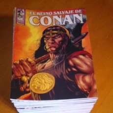 Cómics: EL REINO SALVAJE DE CONAN - EDITORIAL FORUM - COMPLETA - 40 NUMEROS - NUEVOS - DE KIOSKO - GORBAUD. Lote 211458014