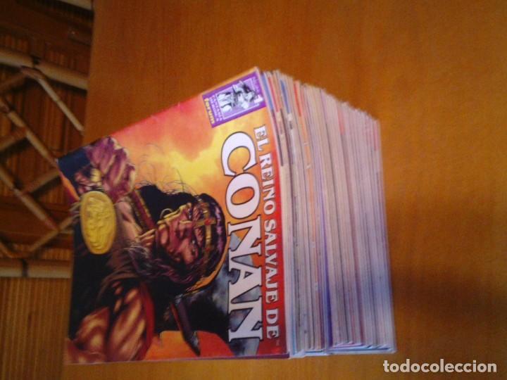 Cómics: EL REINO SALVAJE DE CONAN - EDITORIAL FORUM - COMPLETA - 40 NUMEROS - NUEVOS - DE KIOSKO - GORBAUD - Foto 5 - 211458014