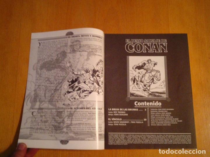 Cómics: EL REINO SALVAJE DE CONAN - EDITORIAL FORUM - COMPLETA - 40 NUMEROS - NUEVOS - DE KIOSKO - GORBAUD - Foto 7 - 211458014