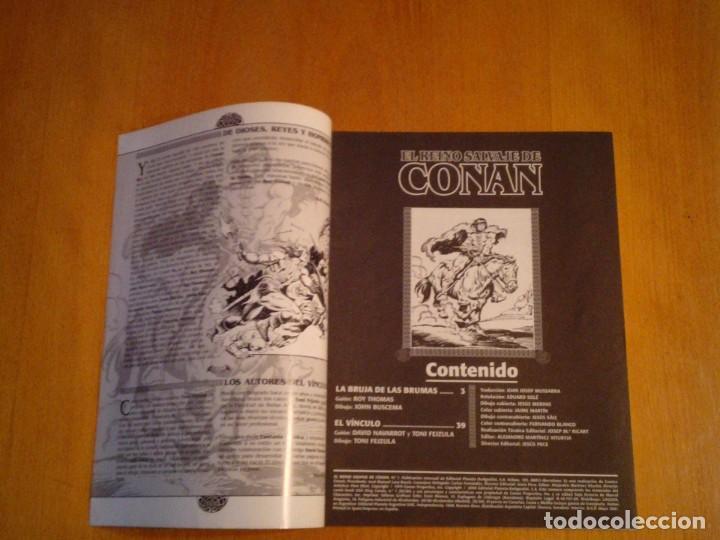 Cómics: EL REINO SALVAJE DE CONAN - EDITORIAL FORUM - COMPLETA - 40 NUMEROS - NUEVOS - DE KIOSKO - GORBAUD - Foto 8 - 211458014