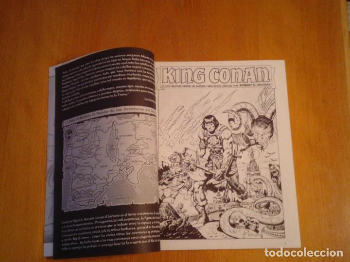 Cómics: EL REINO SALVAJE DE CONAN - EDITORIAL FORUM - COMPLETA - 40 NUMEROS - NUEVOS - DE KIOSKO - GORBAUD - Foto 9 - 211458014