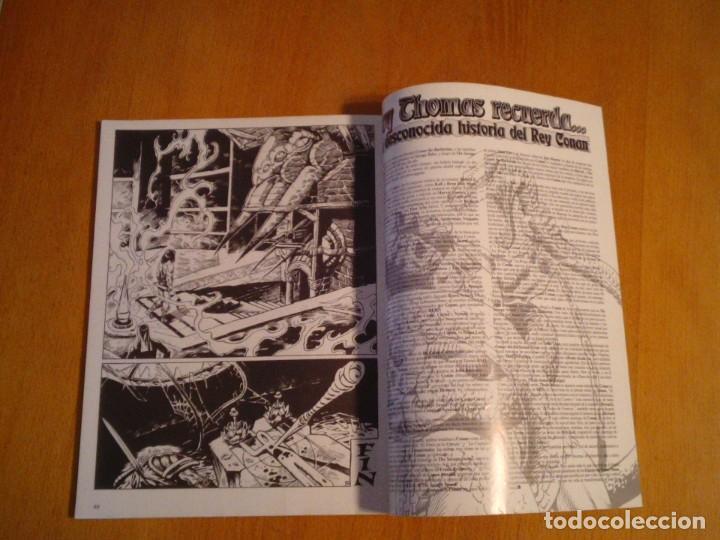 Cómics: EL REINO SALVAJE DE CONAN - EDITORIAL FORUM - COMPLETA - 40 NUMEROS - NUEVOS - DE KIOSKO - GORBAUD - Foto 11 - 211458014