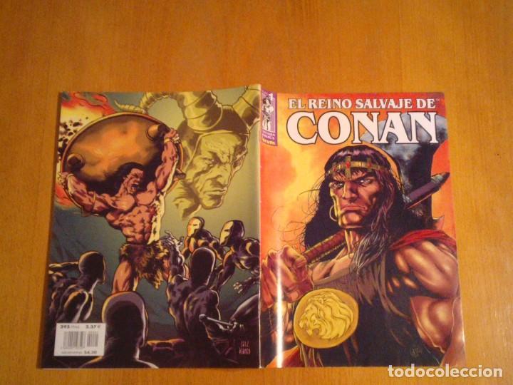 Cómics: EL REINO SALVAJE DE CONAN - EDITORIAL FORUM - COMPLETA - 40 NUMEROS - NUEVOS - DE KIOSKO - GORBAUD - Foto 12 - 211458014