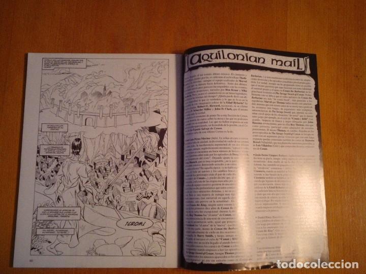 Cómics: EL REINO SALVAJE DE CONAN - EDITORIAL FORUM - COMPLETA - 40 NUMEROS - NUEVOS - DE KIOSKO - GORBAUD - Foto 17 - 211458014