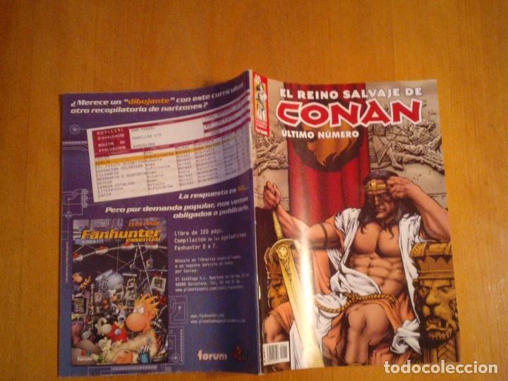 Cómics: EL REINO SALVAJE DE CONAN - EDITORIAL FORUM - COMPLETA - 40 NUMEROS - NUEVOS - DE KIOSKO - GORBAUD - Foto 18 - 211458014