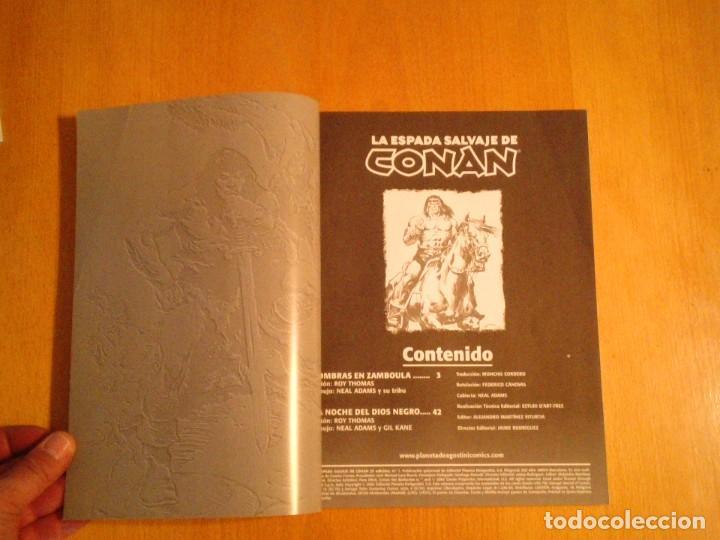 Cómics: LA ESPADA SALVAJE DE CONAN - EDITORIAL FORUM - COMPLETA - 85 NUMEROS - NUEVOS - DE KIOSKO - GORBAUD - Foto 7 - 211458212