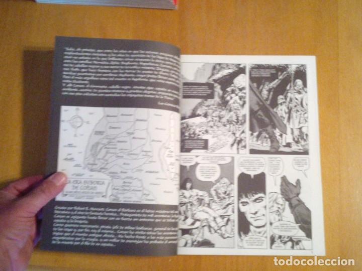 Cómics: LA ESPADA SALVAJE DE CONAN - EDITORIAL FORUM - COMPLETA - 85 NUMEROS - NUEVOS - DE KIOSKO - GORBAUD - Foto 14 - 211458212