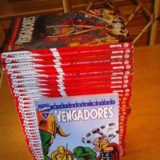 Cómics: VENGADORES BIBLIOTECA EXCELSIOR - COLECCION COMPLETA - 32 NUMEROS - NUEVOS - GORBAUD. Lote 211461179