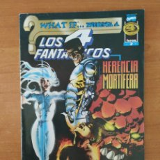 Cómics: LOS 4 FANTASTICOS. HERENCIA MORTÍFERA. COLECCIÓN WHAT IF...PRESENTA A. MARVEL COMICS. FORUM. Nº 2.. Lote 211461352
