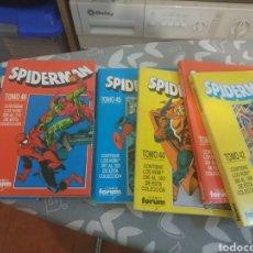 Cómics: LOTE RETAPADOS SPIDERMAN 49 TOMOS FORUM VOLUMEN 1. Lote 211500065
