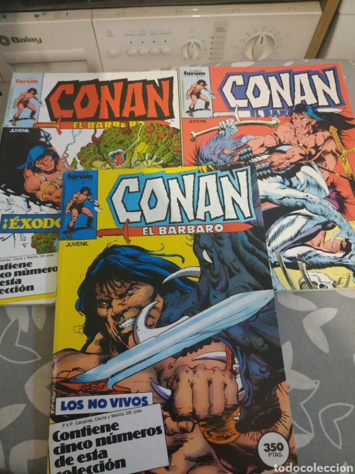 Cómics: Lote retapados Conan el bárbaro 9 tomos - Foto 2 - 211501049