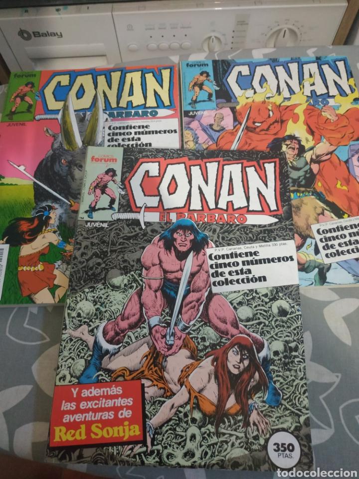 Cómics: Lote retapados Conan el bárbaro 9 tomos - Foto 3 - 211501049