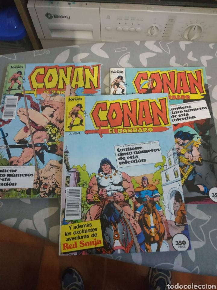 LOTE RETAPADOS CONAN EL BÁRBARO 9 TOMOS (Tebeos y Comics - Forum - Conan)