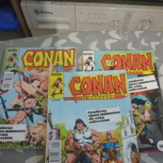 Cómics: LOTE RETAPADOS CONAN EL BÁRBARO 9 TOMOS. Lote 211501049