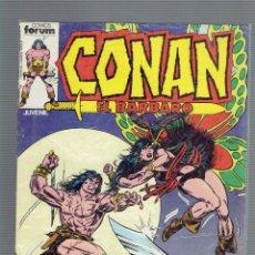 Cómics: CONAN EL BARBARO N,92,68,6.EDICIONES FORUM S.A. AÑO 1986. Lote 211525089