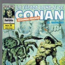 Cómics: SE VENDEN SUELTOS A 3 LA UNIDAD,LA ESPADA SALVAJE DE CONAN 2 EDICION.EDICIONES FORUM S.A 1990. Lote 211525260