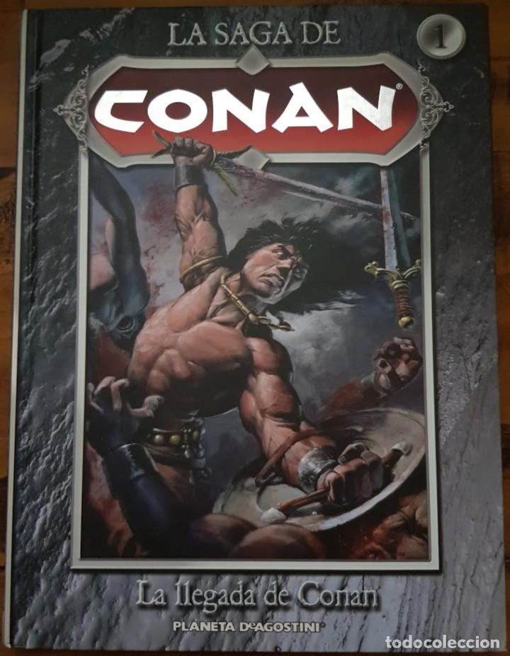 LA SAGA DE CONAN 01: LA LLEGADA DE CONAN. PLANETA (Tebeos y Comics - Forum - Conan)