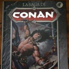 Cómics: LA SAGA DE CONAN 01: LA LLEGADA DE CONAN. PLANETA. Lote 211578234