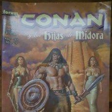 Cómics: CONAN Y LAS HIJAS DE MIDORA. Lote 211578321