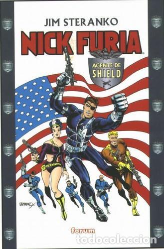 NICK FURIA - STERANKO - LO MEJOR Y ESENCIAL EN 4 TOMOS (Tebeos y Comics - Forum - Furia)