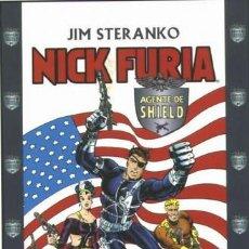Cómics: NICK FURIA - STERANKO - LO MEJOR Y ESENCIAL EN 4 TOMOS. Lote 211585526