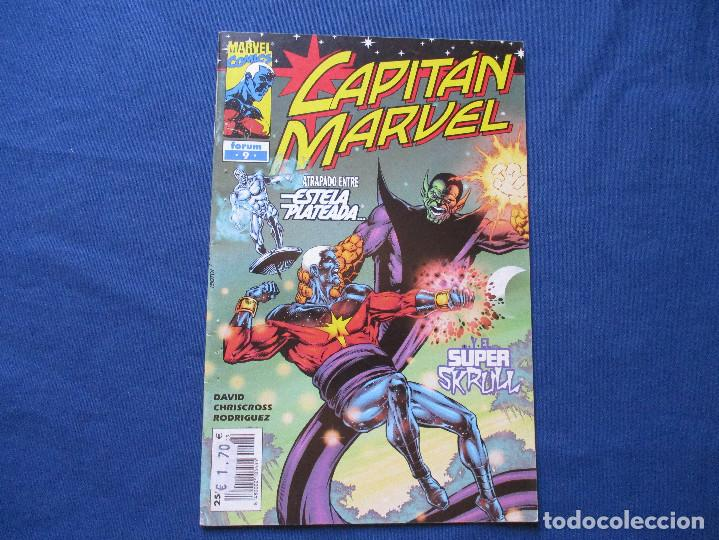 MARVEL / CAPITÁN MARVEL N.º 9 DE PETER DAVID - FORUM 2001 (Tebeos y Comics - Forum - Otros Forum)