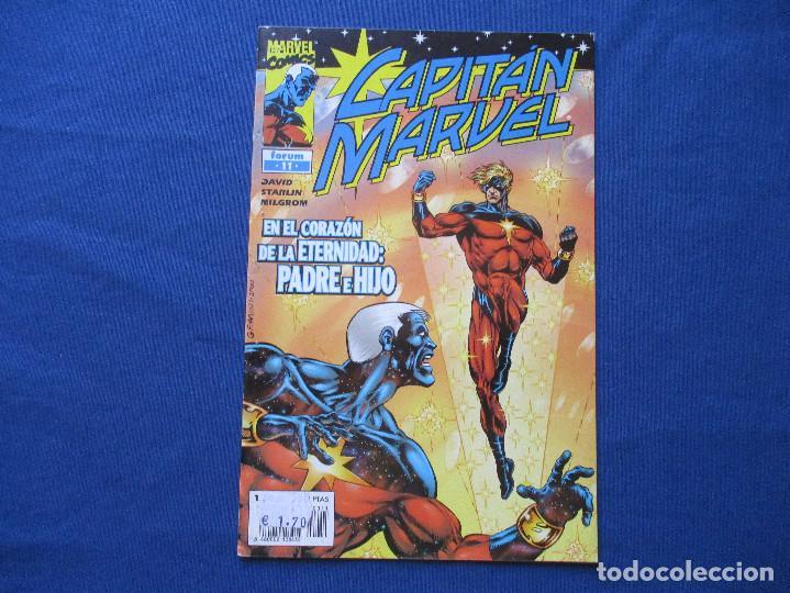MARVEL / CAPITÁN MARVEL N.º 11 DE PETER DAVID - FORUM 2001 (Tebeos y Comics - Forum - Otros Forum)