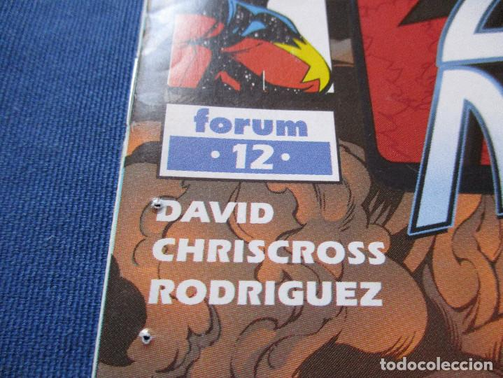 Cómics: MARVEL / CAPITAN MARVEL N.º 12 de PETER DAVID - FORUM 2001 - MAXIMUM SEGURITY SAGA - Foto 3 - 142392090
