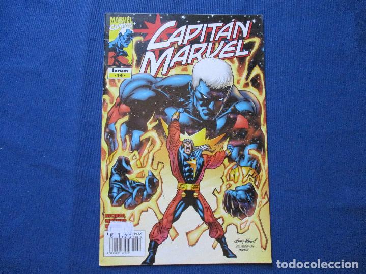 MARVEL / CAPITAN MARVEL N.º 14 DE PETER DAVID - FORUM 2001 (Tebeos y Comics - Forum - Otros Forum)