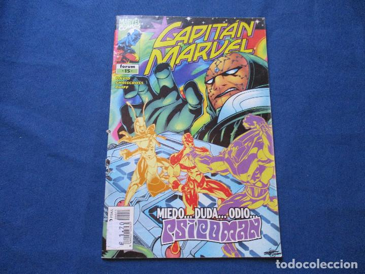 MARVEL / CAPITAN MARVEL N.º 15 DE PETER DAVID - FORUM 2002 (Tebeos y Comics - Forum - Otros Forum)