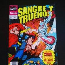 Cómics: CASI EXCELENTE ESTADO SANGRE Y TRUENOS 2 FORUM. Lote 211644576
