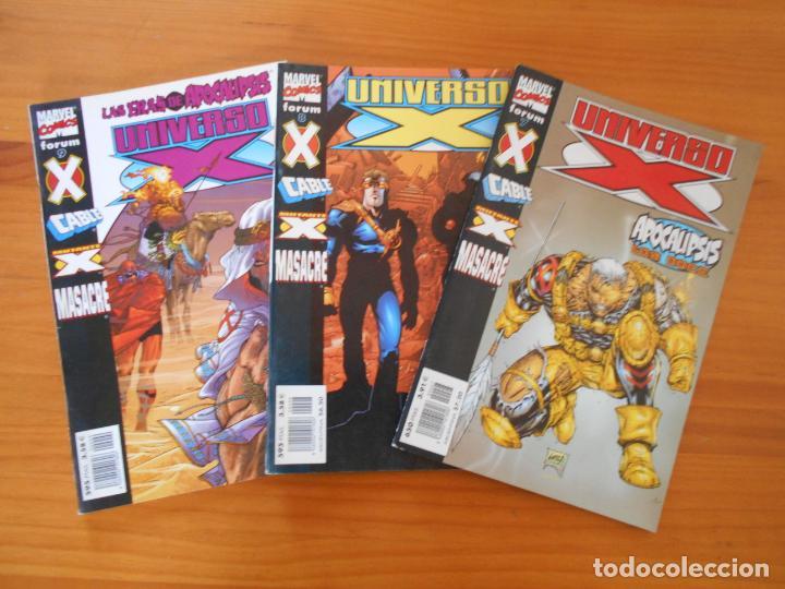 Cómics: UNIVERSO X COMPLETA - Nº 1 A 16 - 16 NUMEROS - MARVEL - FORUM (8X) - Foto 4 - 211647084