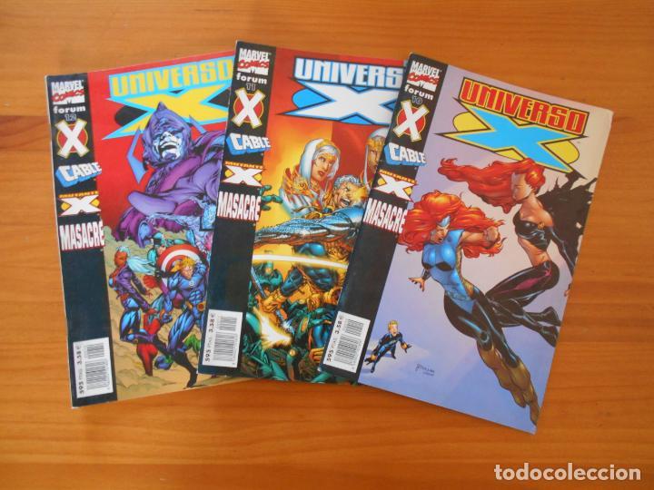Cómics: UNIVERSO X COMPLETA - Nº 1 A 16 - 16 NUMEROS - MARVEL - FORUM (8X) - Foto 5 - 211647084