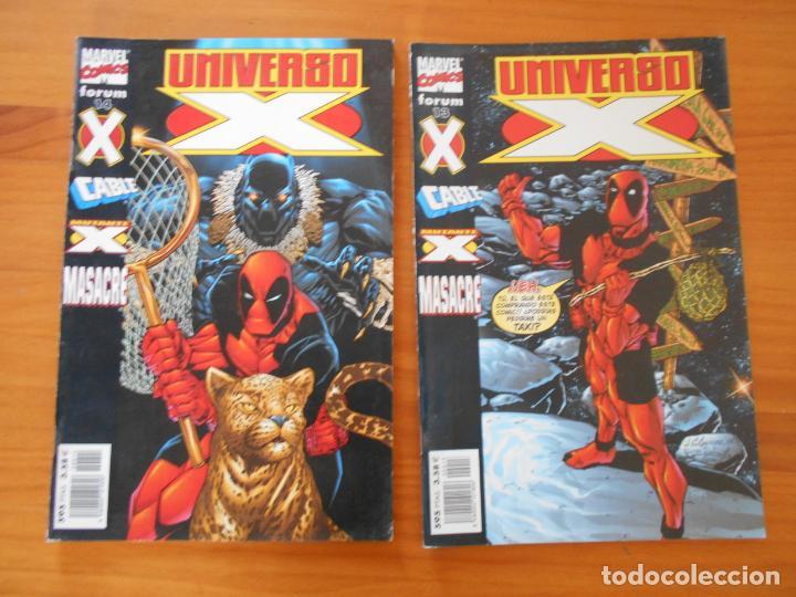 Cómics: UNIVERSO X COMPLETA - Nº 1 A 16 - 16 NUMEROS - MARVEL - FORUM (8X) - Foto 6 - 211647084