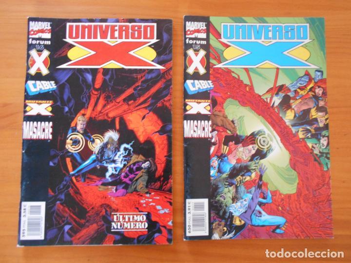 Cómics: UNIVERSO X COMPLETA - Nº 1 A 16 - 16 NUMEROS - MARVEL - FORUM (8X) - Foto 8 - 211647084